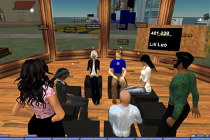 Second Life: Big Avatar on Campus