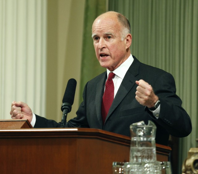 Gov. Jerry Brown. (Steve Yeater/AP)