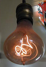Does the 110-Year Old Livermore Light Bulb Prove a 'Planned ...:Photo: Livermore's Centennial Light web site,Lighting