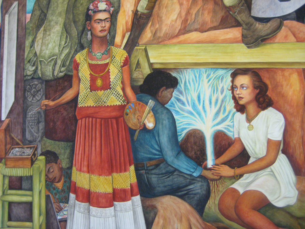 Sf and mexico join forces to preserve diego rivera mural for Diego rivera mural paintings