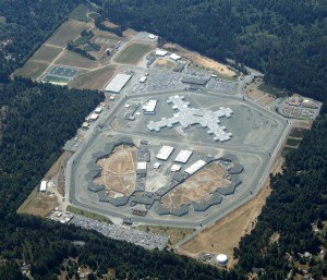 Aerial shot of Pelican Bay State Prison. Photo: WikiMedia