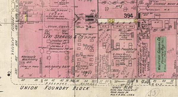 1906 Earthquake Map.Mapping Project Reveals Pre 1906 Quake San Francisco News Fix