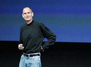 Steve Jobs. Tony Avelar/Getty