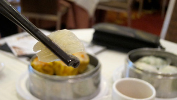 FILE PHOTO: Shark fin soup (Krissy Clark/KQED)