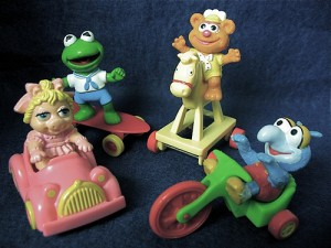 Muppet Babies Happy Meal Toys from the 1980's, photo by Ursula Erdbeer/creative commons