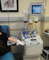 "Bone marrow donation can be done by ""apheresis."" (Photo by: ec-jpr/Flickr)"