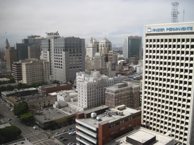 Downtown Oakland. (Photo by: Craig Miller/ KQED)