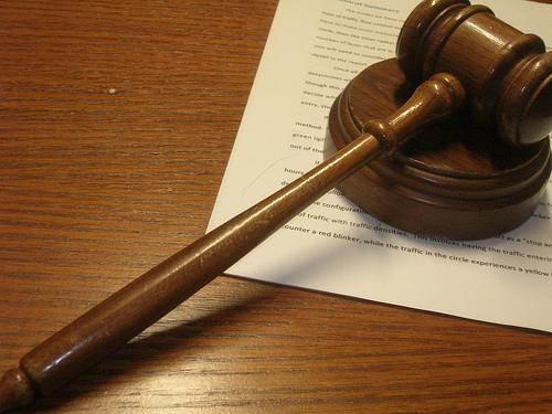 Three Strikes Law, gavel
