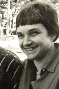 Adrienne Rich at a writing workshop in Austin, Texas in 1980. (K Kendall/Flickr)