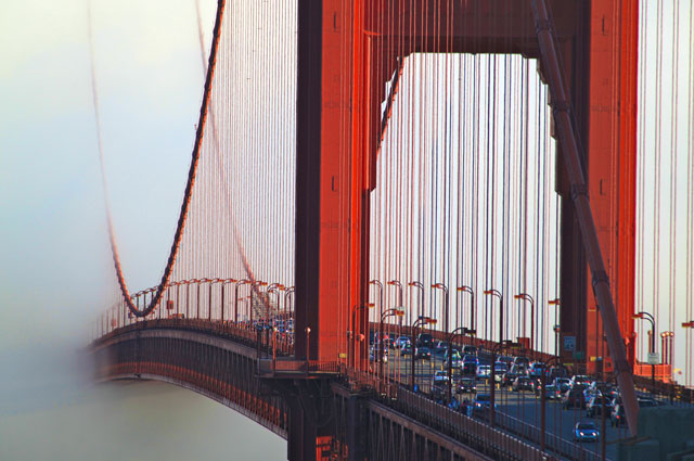 Drivers currently pay a $6 toll on the Golden Gate Bridge. (Courtesy Golden Gate Bridge District)