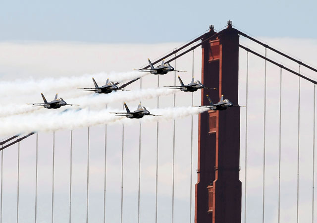 Fleet Week Returns to the Bay: A Quick Guide to Getting There