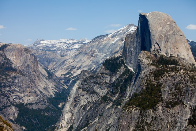 Half Dome, from Glacier Point in Yosemite National Park. (James Chang/Flickr)