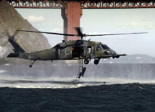 What's The Deal With Those Military Helicopters Flying Over the Bay
