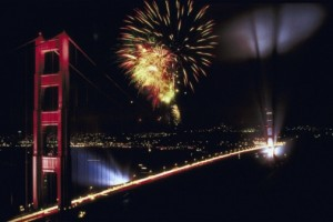 Communities around the Bay Area will set off fireworks to celebrate Indepdence Day. (Getty Images)