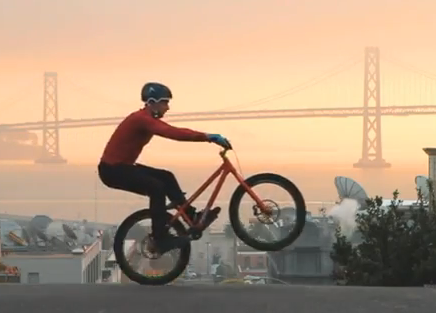 Danny MacAskill is a professional bike trials rider from Scotland. (Image: YouTube)