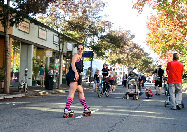 News Pix: Parent Trigger Law, Berkeley Sunday Streets