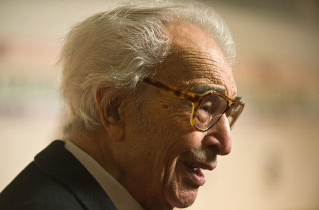 Dave Brubeck in 2009. NICHOLAS KAMM/AFP/Getty Images