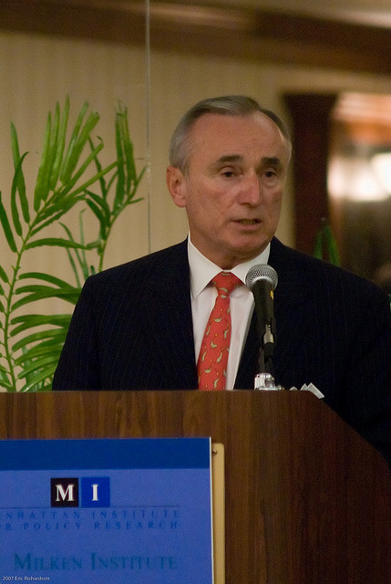 William Bratton in 2008. Photo by Eric Richardson/Flickr.