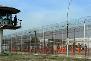 State prison inmates in Chino (Kevork Djansezian)