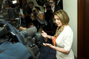 House Minority Leader Nancy Pelosi (Jay Malin/Bloomberg)