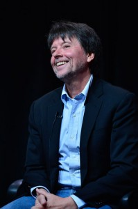 Ken Burns (Courtesy of Rahoul Ghose/PBS)