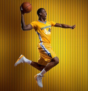 The Golden State Warriors' alternate jerseys. (Golden State Warriors and Adidas)