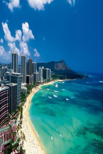 Waikiki Beach, Hawaii (Medioimages/Photodisc)