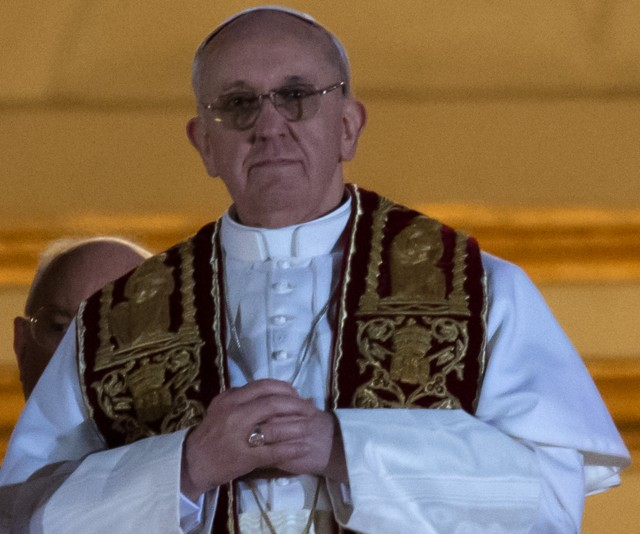 FILE PHOTO: Pope Francis I  (Vincenzo  Pinto/AFP/Getty Images)