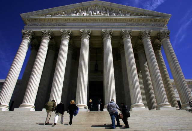 The Supreme Court of the United States. (Paul J. Richards/AFP/Getty Images)