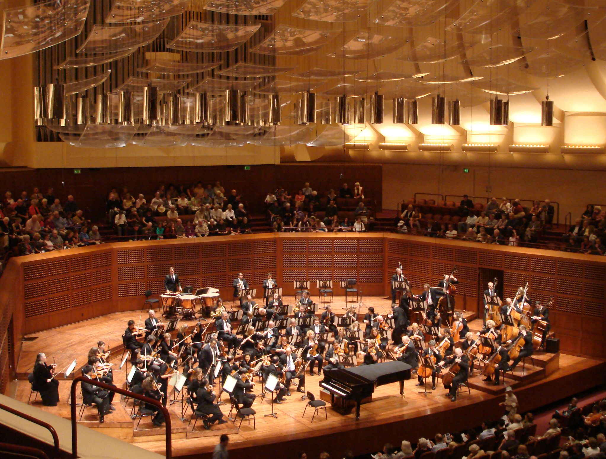 San Francisco Symphony performance during Opening Night Gala Gala at Davies Symphony Hall in San Francisco, Calif. on Wednesday, September 5,