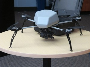 An small drone. (Andrew Stelzer/KQED)
