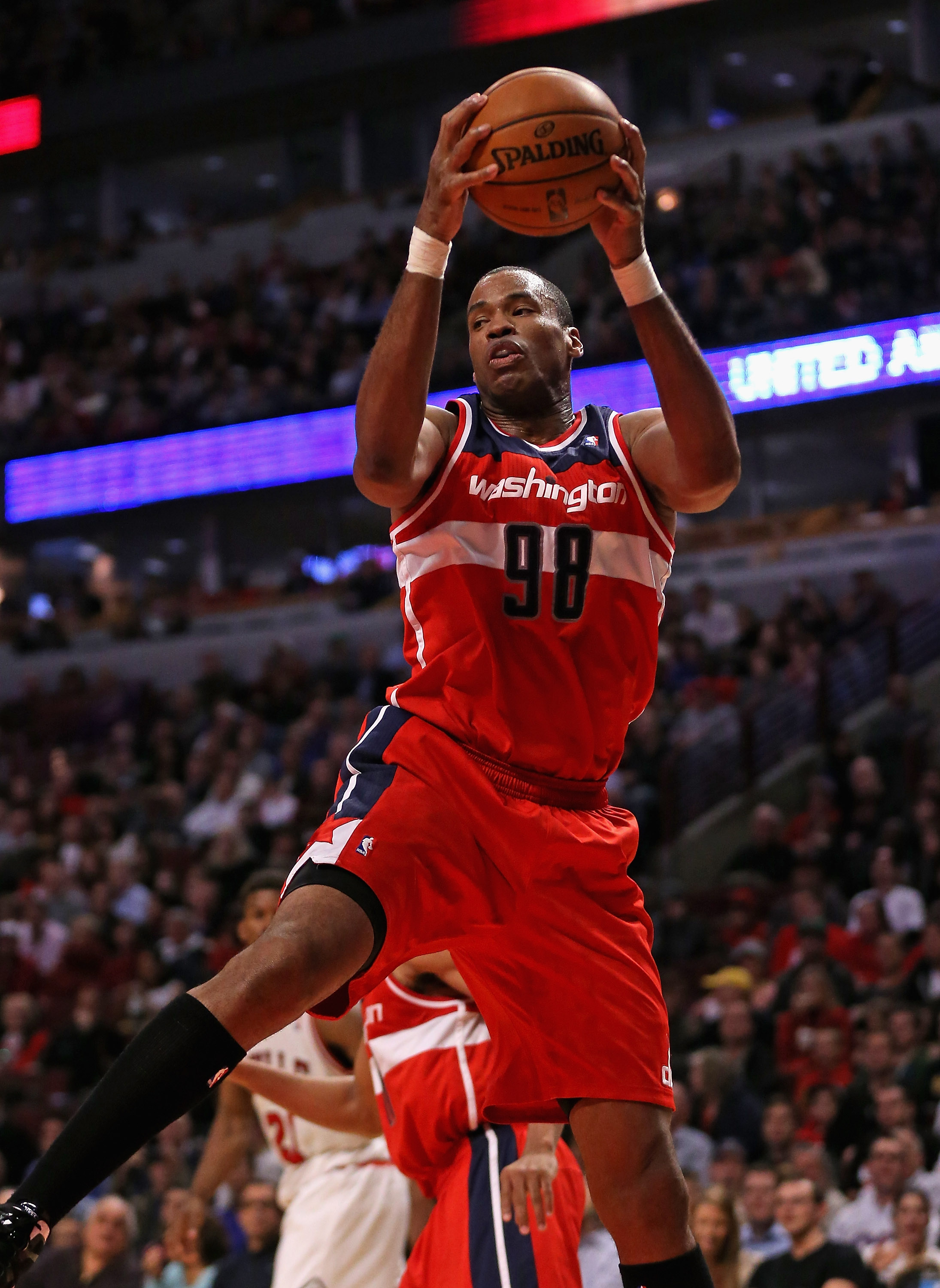 Jason Collins in a game against the Chicago Bulls. (Jonathan Daniel/Getty Images)