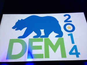 California's Democrats gathered in Sacramento this weekend