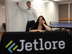 Jetlore founders Monste Medina and Eldar Sadikov. (Jetlore)