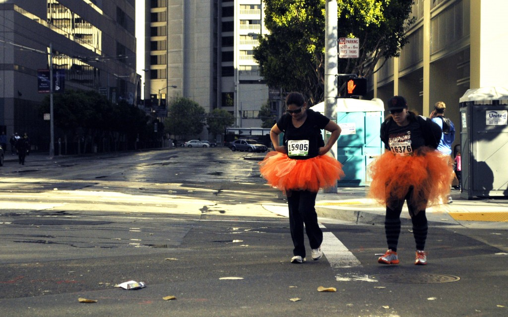 Tutus proved popular at this year's event. (Lauren Benichou/KQED)
