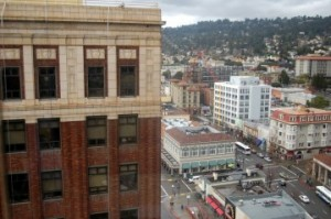 More than 800 new housing units are planned for downtown Berkeley. (Tracey Taylor)