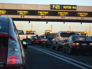File photo. Traffic before the Bay Bridge. (Craig Miller / KQED)