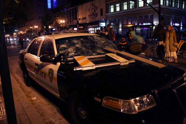 Oakland Considers Banning 'Tools of Violence' From Future Demonstrations