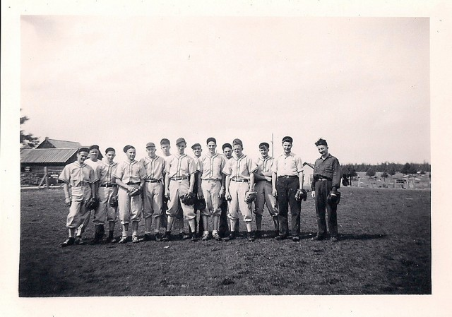 Baseball team in Idaho, date unknown. (Courtesy of Homini/Flickr)