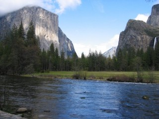 El Capitan in Yosemite National Park, one of the locations used in the video. (Craig Miller/KQED).