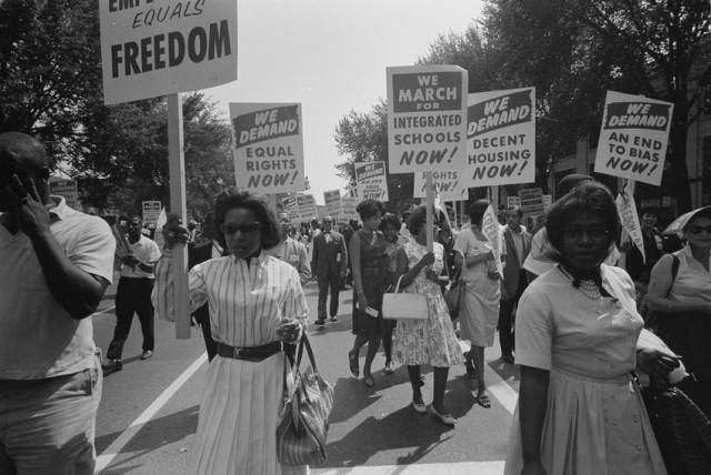 Read AP's Original Report on the 1963 March on Washington