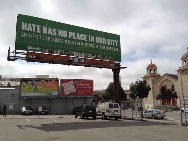 SoMa Billboard Put Up As Counterpoint to Anti-Islam Muni Ads