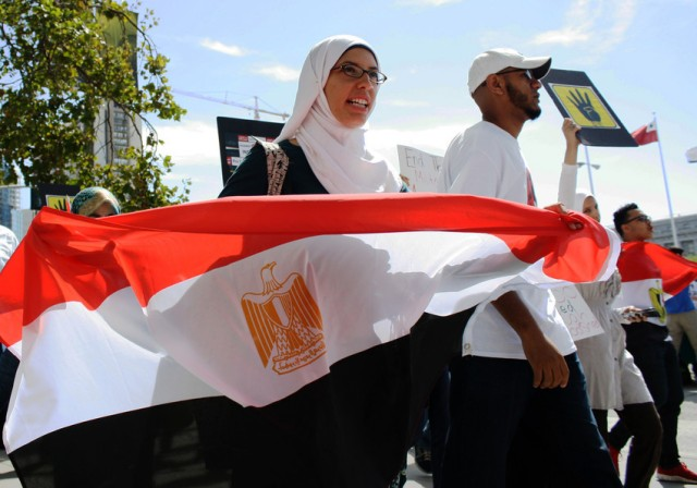 Bay Area Egyptian-Americans Call For Halt to U.S. Military Aid