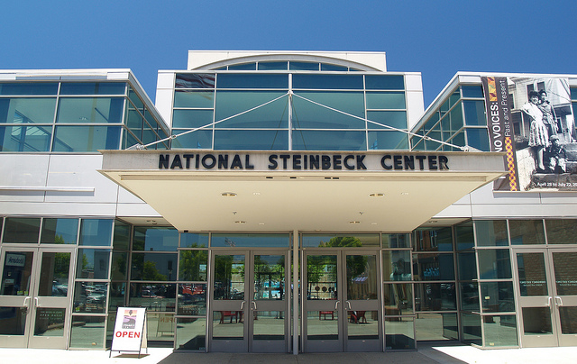 The National Steinbeck Center in Salinas. (Stephen Gough/Flickr Commons)