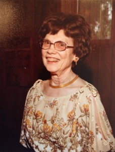 Elsie Fossum travelled widely, say her family members, and New Zealand was one of her favorite countries. (Photo courtesy of the Fossum family)