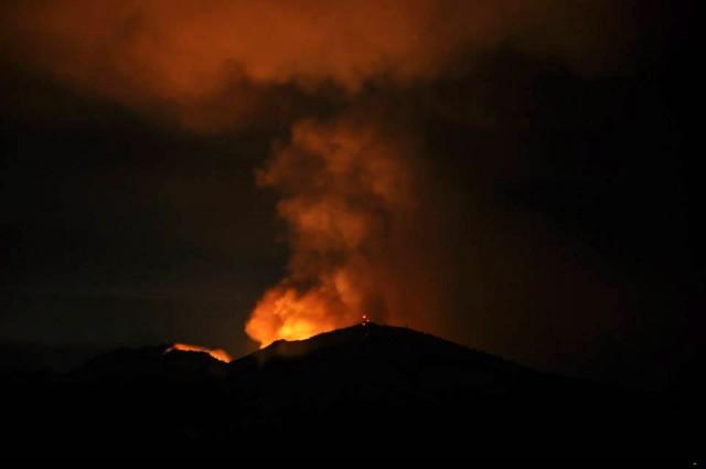 Mount Diablo Blaze Grows Rapidly, Forces Evacuations