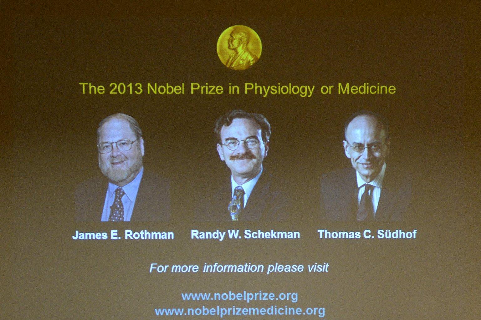 Berkeley, Stanford Scientists Share Nobel Prize for Medicine