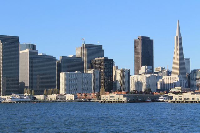 San Francisco's waterfront (Nouhailler / Flickr)