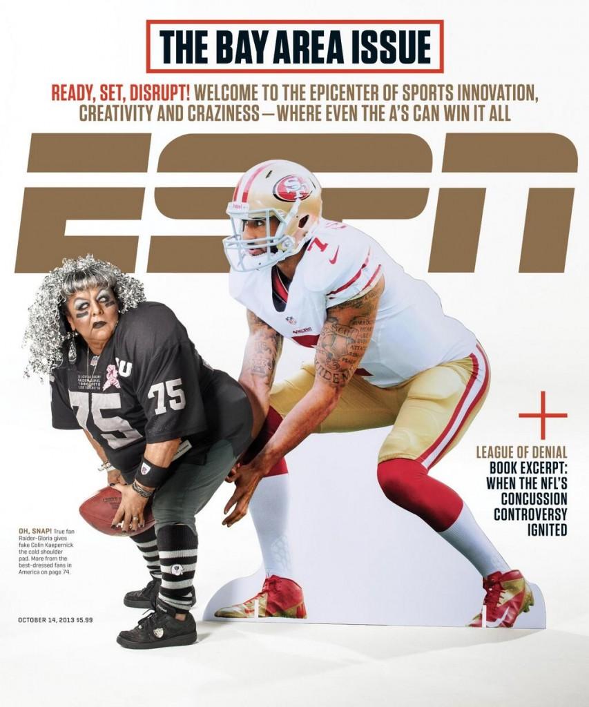 ESPN The Magazine's Bay Area cover. Photo: Courtesy of ESPN The Magazine