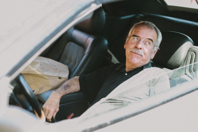 Tim Oviatt was forced to live in his car for more than eight months.  (Myleen Hollero/KQED)
